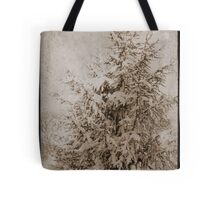 Old Xmas Tree Tote Bag