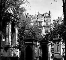 paris cemetery (Pere Lachaise) by Anthony DiMichele