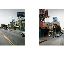 La Brea Avenue + 6th Street, Mid-Wilshire (I), Los Angeles, California, USA...narrowed. by David Yoon