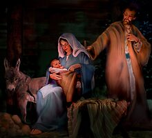 Holy Child by Jean Hildebrant