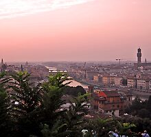 Sunset - Florence, Italy by rjhphoto
