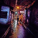 the alley-christmas eve by marcwellman2000