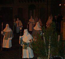 Enna, Sicily. Easter Procession IX 2006  by Igor Pozdnyakov