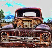 Old Rusty Car by Ausgirl60