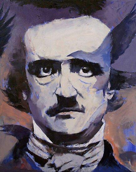Portrait of Edgar Allan Poe by Michael Creese