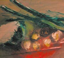 Still Life Vegetables by Gail McMaster
