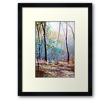 'Wickham Mist 2' Framed Print