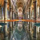 Salisbury Cathedral Interior Reflections by Adam Gormley