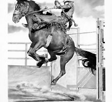 Saddle Bronc #2 by J.D. Bowman