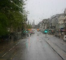 From the top of the double-decker bus in Edinburgh, Scotland by April-in-Texas
