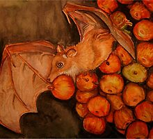 fruit bat by Pam Utton