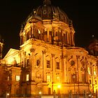 Berlin at night by iagomega