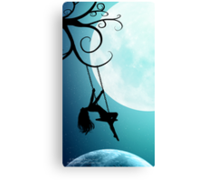 Above The World As It Sleeps Canvas Print