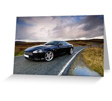 Aston Martin .... Greeting Card