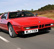 The BMW M1 .... by M-Pics