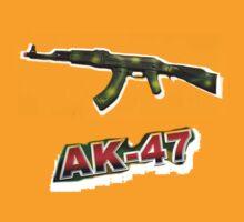 ak-47  by ralphyboy