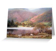 Across the Lake, Cumbria Greeting Card