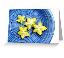 Star Fruit  Greeting Card