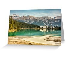 The Fairmont Chateau, Lake Louise Greeting Card