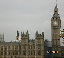 Big Ben and house of commons by Jadavision