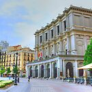 Madrid - Plaza de Oriente. Teatro Real. by josemazcona