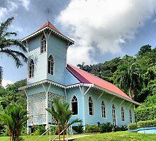 Panamá - Réplica de una iglesia anglicana del S. XIX. by josemazcona