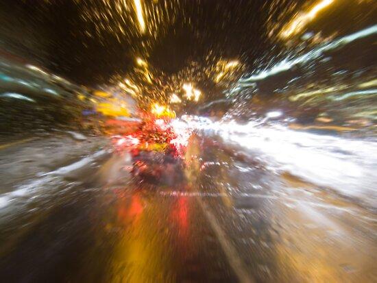 Driving Rain by Nigel Bangert