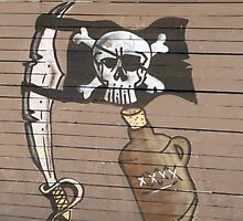 Pirate Flag by ScenerybyDesign