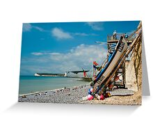 Seven Sisters from Birling Gap Greeting Card