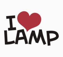 I Love Lamp by Karl Whitney