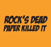 Rock's Dead by Karl Whitney