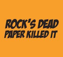 Rock's Dead by Karl Whitney