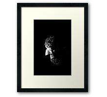 Reflective soul Framed Print