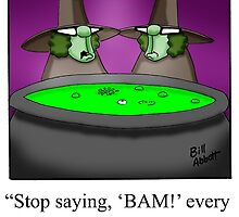 Funny Cooking Humorous Art by abbottoons