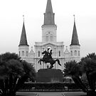 Jackson Square New Orleans by John Mckinney