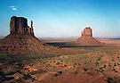 The Mittens, Monument Valley by nealbarnett