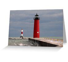 Pierhead Lighthouse Greeting Card