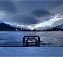 Loch Earn by Mark Hughes