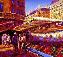 Paris Market by sesillie