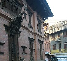 Ancient city,modern life - bhaktapur by chitrali