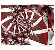 Red Petals Poster