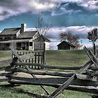 The 1850's Farmhouse ( 2 ) Staunton by Larry Lingard/Davis