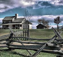 The 1850's Farmhouse ( 2 ) Staunton by Larry Lingard-Davis