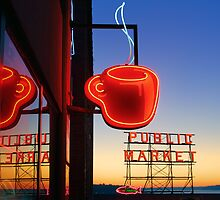 Seattle Coffee by Inge Johnsson