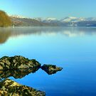 Coniston Water In Winter by VoluntaryRanger