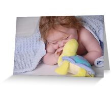 Laughter - A childs best friend Greeting Card