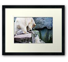 Stay away it's not Saturday - yet! Framed Print