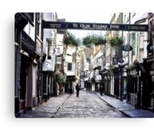 Stonegate - York Canvas Print
