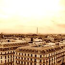 vintage Paris view by faithie