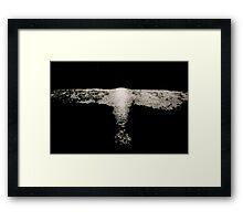 11:17:10 (cold angel) Framed Print